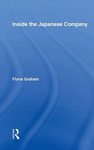 9780415306706: Inside the Japanese Company