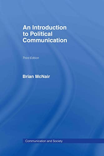 9780415307079: An Introduction to Political Communication