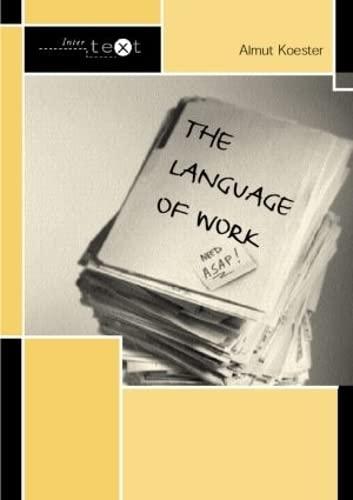 9780415307307: The Language of Work (Intertext)