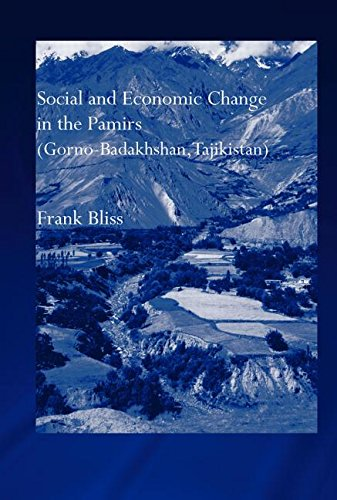 9780415308069: Social and Economic Change in the Pamirs (Gorno-Badakhshan, Tajikistan): Translated from German by Nicola Pacult and Sonia Guss with support of Tim Sharp