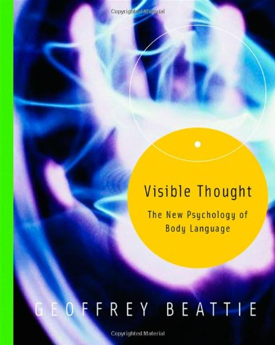 9780415308090: Visible Thought: The New Psychology of Body Language