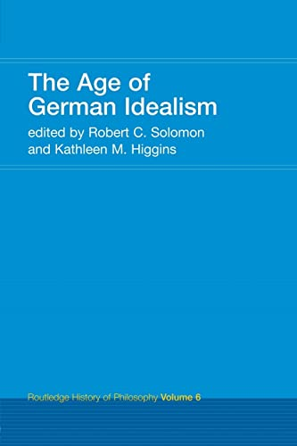 9780415308786: The Age of German Idealism: Routledge History of Philosophy Volume 6 (Volume 7)