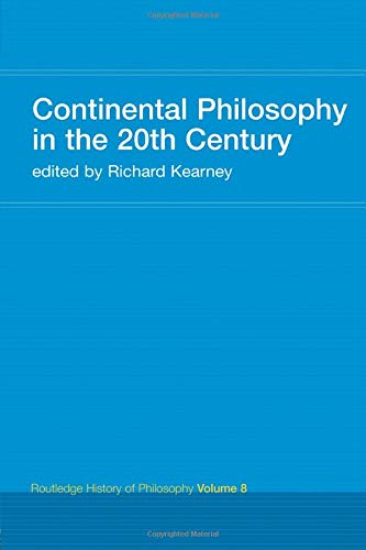 9780415308809: Routledge History of Philosophy (10 Volumes): Continental Philosophy in the 20th Century: Routledge History of Philosophy Volume 8