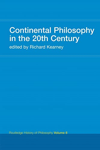9780415308809: Continental Philosophy in the 20th Century: Routledge History of Philosophy Volume 8 (Volume 9)