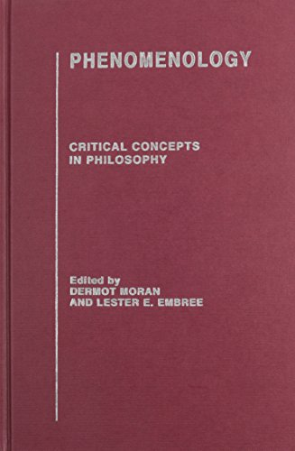 9780415310383: Phenomenology: Critical Concepts in Philosophy
