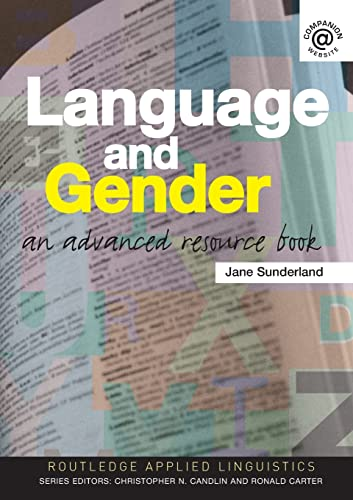 9780415311045: Language and Gender: An Advanced Resource Book (Routledge Applied Linguistics)