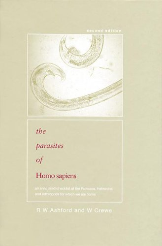 9780415311182: Parasites of Homo sapiens: An Annotated Checklist of the Protozoa, Helminths and Arthropods for which we are Home