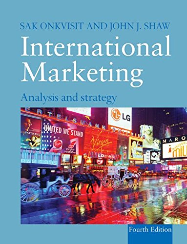 International Marketing: Analysis and Strategy: Sak Onkvisit