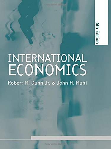 9780415311533: International Economics sixth edition