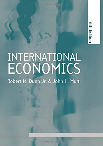 9780415311540: International Economics sixth edition