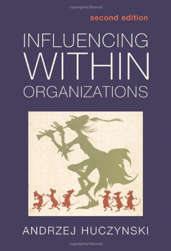 9780415311625: Influencing Within Organizations