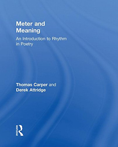 9780415311748: Meter and Meaning: An Introduction to Rhythm in Poetry
