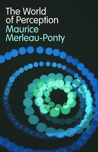 9780415312714: The World of Perception (Routledge Classics)