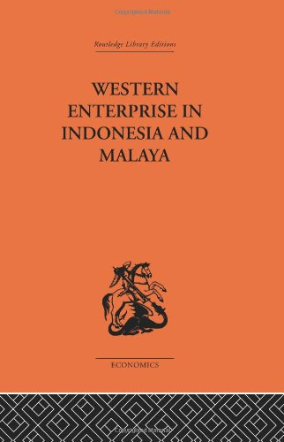 9780415312967: Western Enterprise in Indonesia and Malaysia