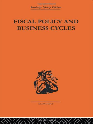 9780415313148: Fiscal Policy & Business Cycles