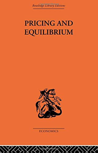 9780415313193: Pricing and Equilibrium