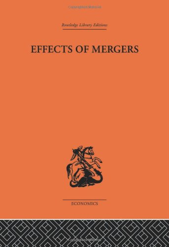 9780415313469: Effects of Mergers