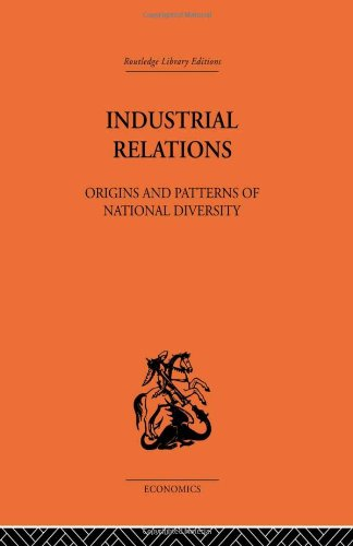 9780415313834: Industrial Relations: Origins and Patterns of National Diversity