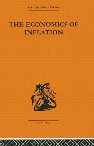 9780415313926: The Economics of Inflation: A Study of Currency Depreciation in Post-War Germany, 1914-1923