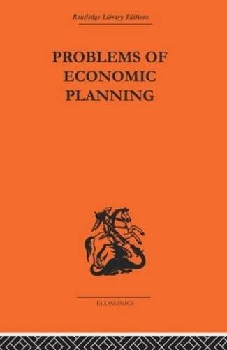 9780415313988: Politics of Economic Planning: Papers on Planning and Economics