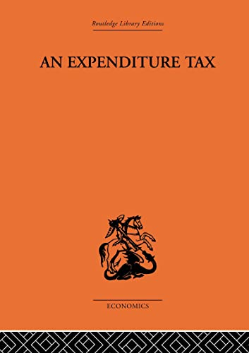 9780415314008: Expenditure Tax