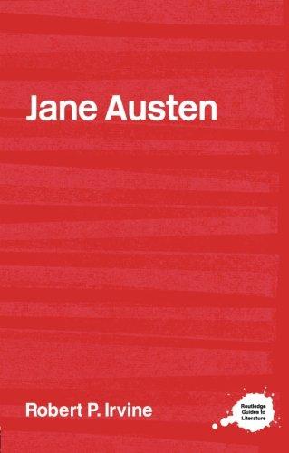 9780415314350: Jane Austen (Routledge Guides to Literature)