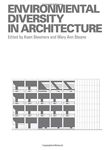 Environmental Diversity in Architecture: Routledge