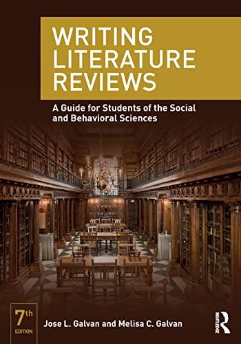 writing literature reviews galvan pdf