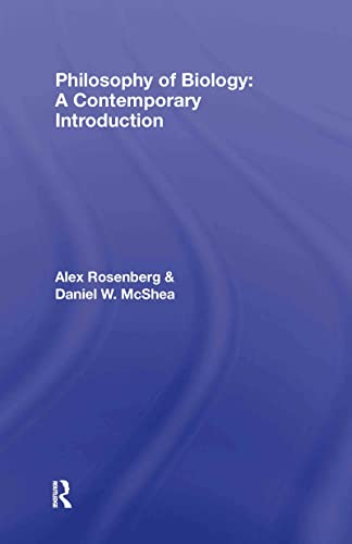 9780415315920: Philosophy of Biology: A Contemporary Introduction (Routledge Contemporary Introductions to Philosophy)