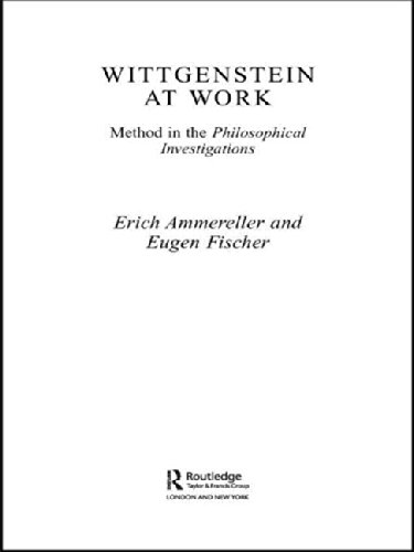 Wittgenstein at Work: Method in the Philosophical Investigations: Routledge