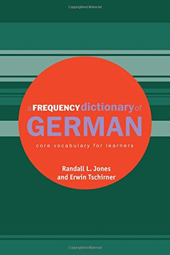 9780415316323: A Frequency Dictionary of German: Core Vocabulary for Learners