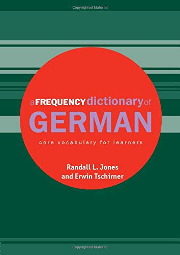 9780415316330: A Frequency Dictionary of German: Core Vocabulary for Learners