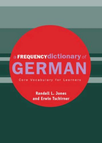 9780415316330: A Frequency Dictionary of German (Routledge Frequency Dictionaries)