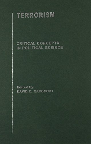 9780415316545: Terrorism: Critical Concepts in Political Science [4 Volume Set]