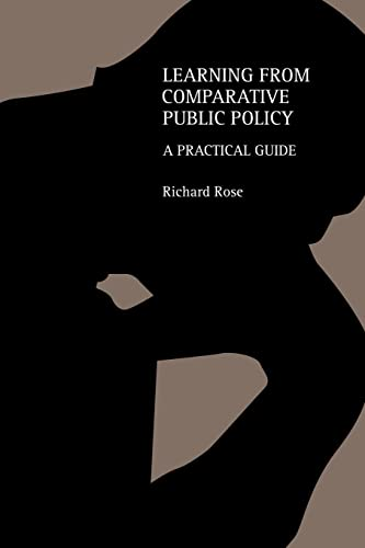 9780415317429: Learning From Comparative Public Policy: A Practical Guide
