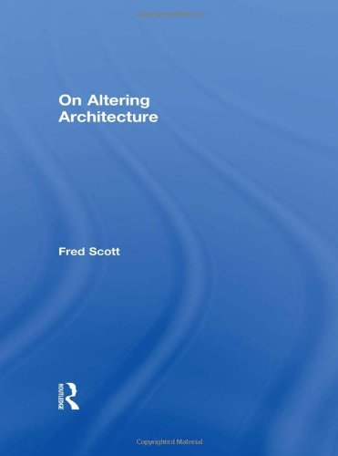 9780415317511: On Altering Architecture