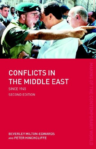 9780415317863: Conflicts in the Middle East since 1945 (The Making of the Contemporary World)