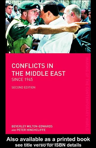 9780415317870: Conflicts in the Middle East since 1945 (The Making of the Contemporary World)