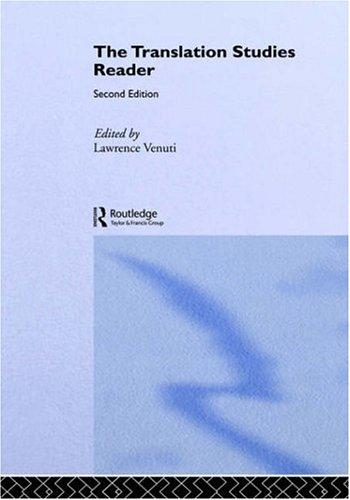 9780415319195: The Translation Studies Reader
