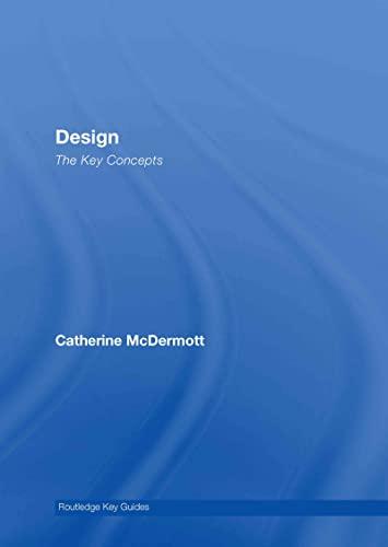 9780415320153: Design: The Key Concepts