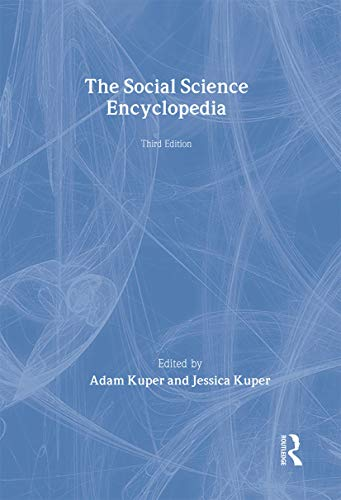 The Social Science Encyclopedia (Hardback): Adam Kuper