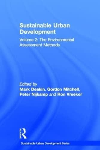 9780415322164: Sustainable Urban Development Volume 2: The Environmental Assessment Methods (Sustainable Urban Development Series)