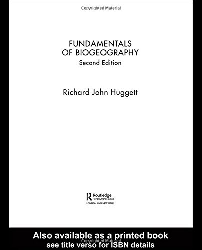 9780415323468: Fundamentals of Biogeography (Routledge Fundamentals of Physical Geography)