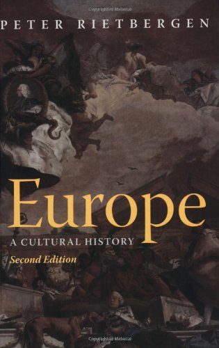 9780415323598: Europe: A Cultural History