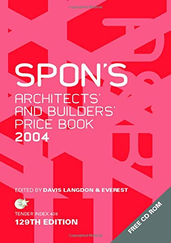 9780415323659: Spon's Architects' and Builders' Price Book 2004 (Spon's Pricebooks)