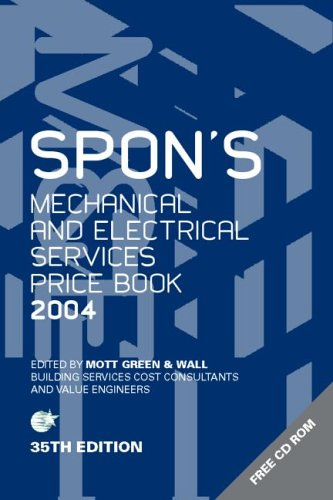 9780415323680: Spon's Mechanical and Electrical Services Price Book 2004