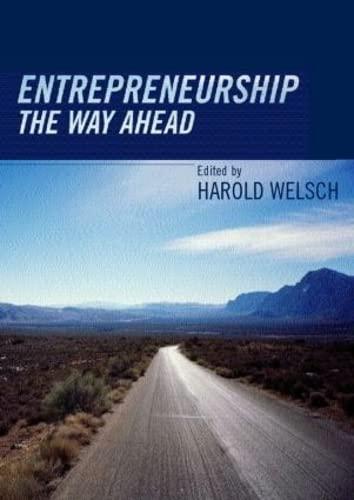 9780415323932: Entrepreneurship: The Way Ahead