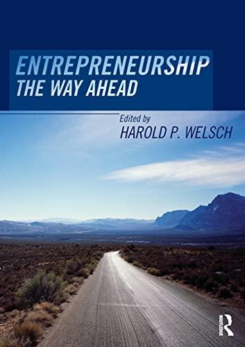 9780415323949: Entrepreneurship: The Way Ahead