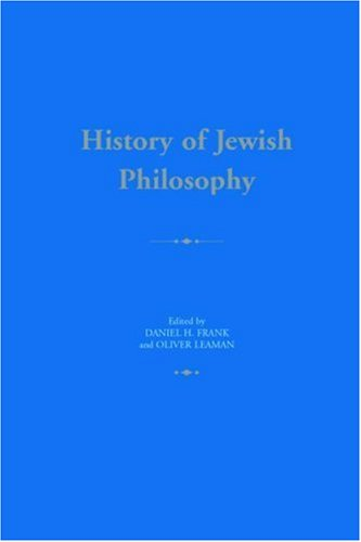 9780415324694: History of Jewish Philosophy (Routledge History of World Philosophies)