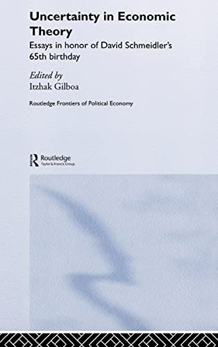9780415324946: Uncertainty in Economic Theory (Routledge Frontiers of Political Economy)